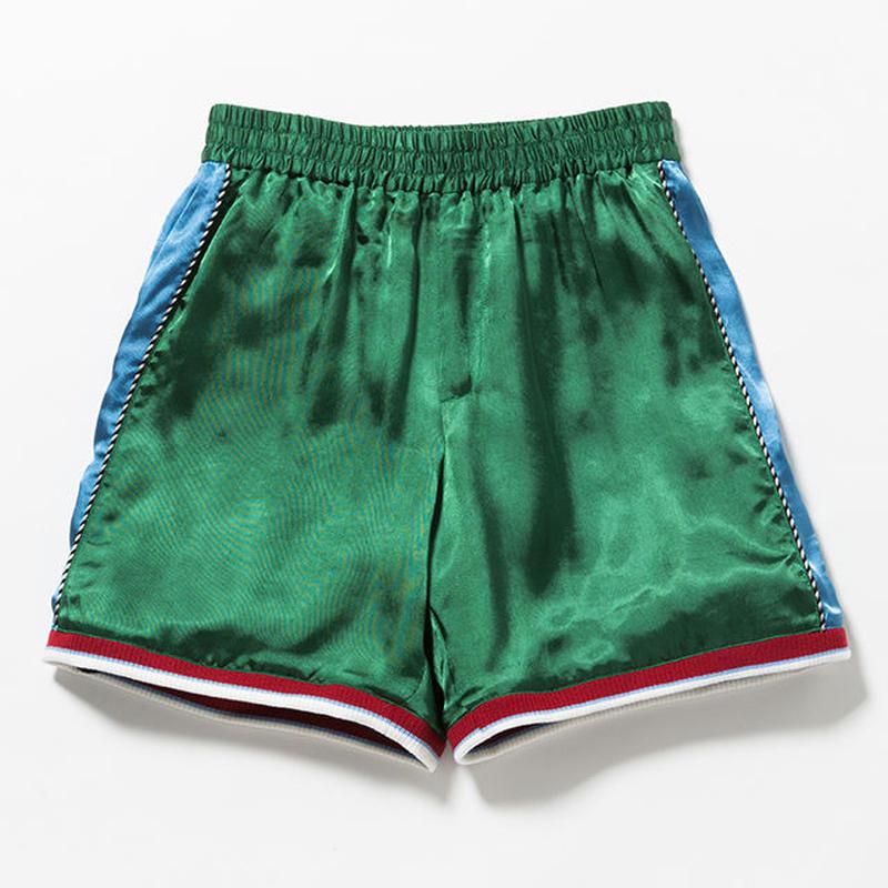 """VOTE MAKE NEW CLOTHES """"SATIN SOUVENIR SHORTS 7"""" (グリーン)"""