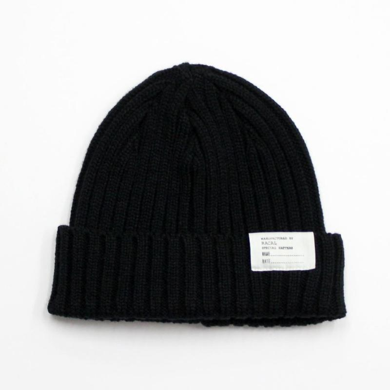 "RACAL ""Standard Knit CAP"" (ブラック)"