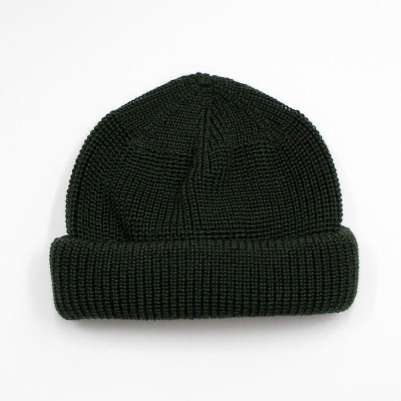 "RACAL ""SK8 Knit CAP"" /ラカル""スケートニットキャップ""(ダークグリーン)"
