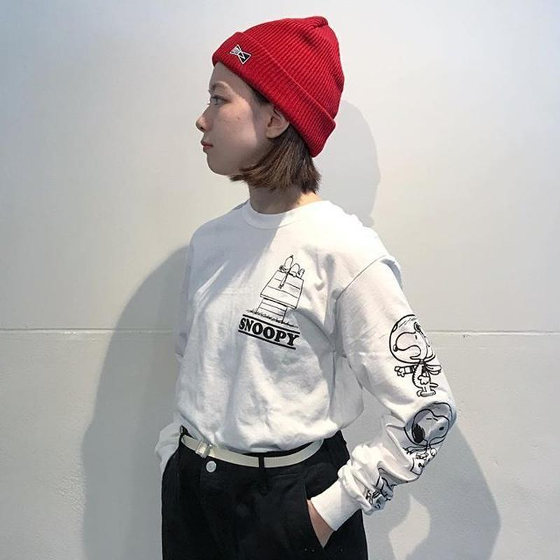 "VOTE MAKE NEW CLOTHES ""HOUSE L/S TEE"" (ホワイト)"