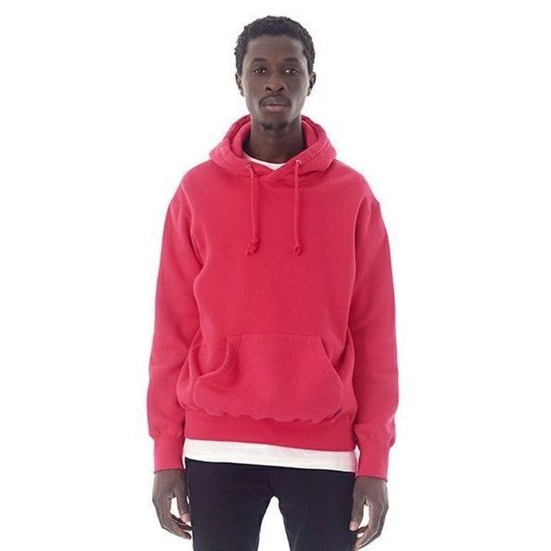 "Sandinista ""Overdyed Hooded Sweatshirt ""/サンディニスタ""オーバーダイドパーカー""(マジェンタ)"
