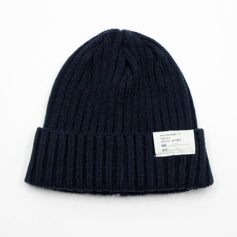 "RACAL ""Standard Knit CAP"" (ネイビー)"