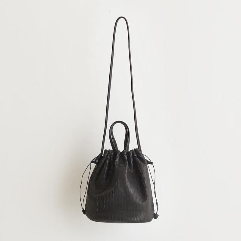"irose ""net bucket bag"" (ブラック)"