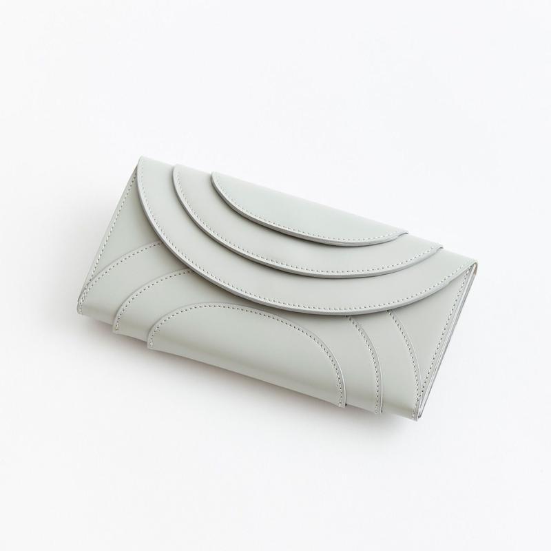 """irose """"fold 3f wallet"""" / イロセ """"フォルド3Fウォレット"""" (グレー)"""