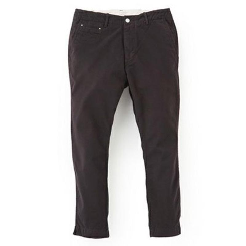 "Sandinista ""B.C. Chino Pants - Ankle Cut"" (ブラック)"