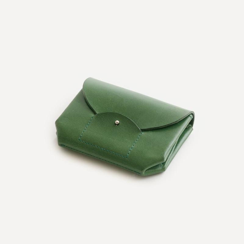 "irose ""ric-rac mini wallet"" / イロセ""リクラクミニウォレット""(グリーン)"
