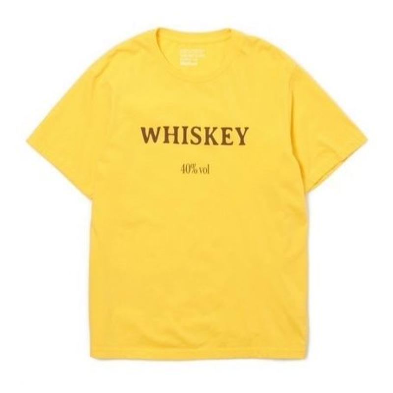"Sandinista ""WHISKEY Tee""(イエロー)"