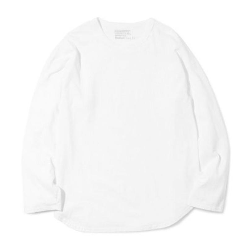 "Sandinista ""Easy Fit Round Cut L-S Tee"" (ホワイト)"