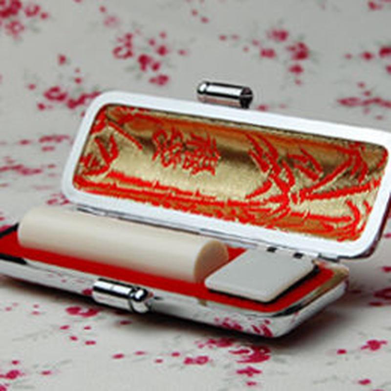 【銀行印】かわいい象牙印鑑 10.5ミリ丸 - 金沢で創業百四十年の老舗はんこ屋のこだわりのはんこ