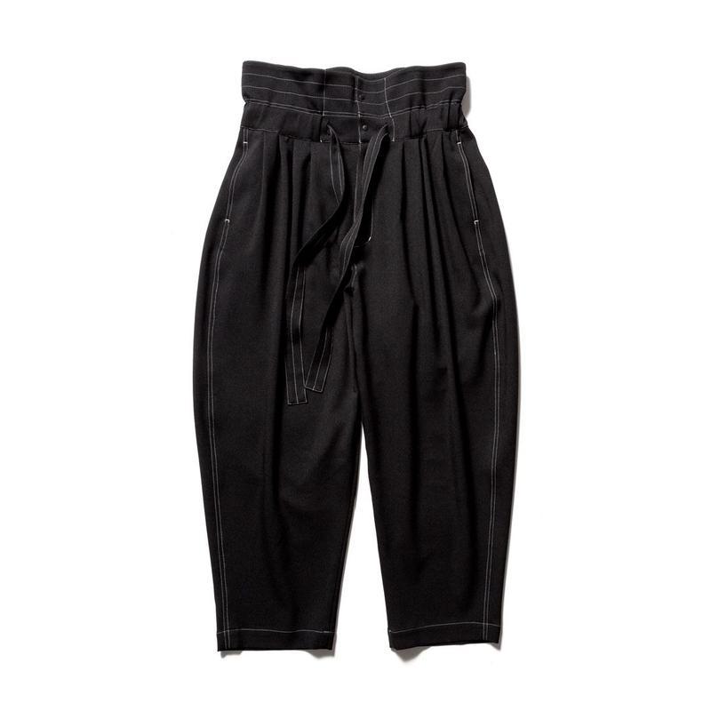 Sasquatchfabrix. HIGH WAIST PANTS | 19AW-PA9-011