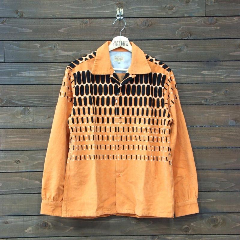 スタイルアイズ コーディロイシャツ「ELVIS DOTS」SE27724