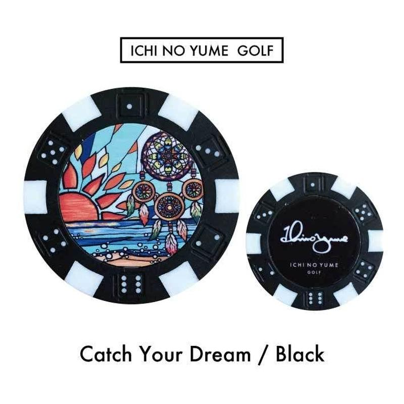 Ichinoyume GOLF カジノマーカー/ゴルフマーカー〝Dream〟