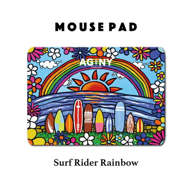 Mouse Pad マウスパッド 〝Surf Rider Rainbow〟