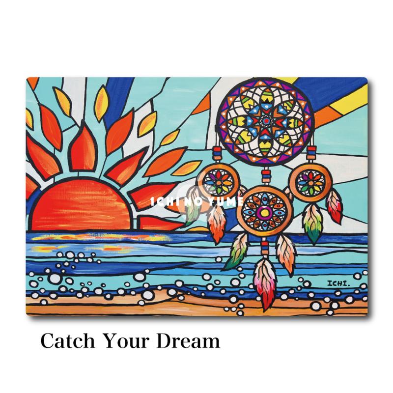 Mac Book カバー 〝Catch Your Dream〟