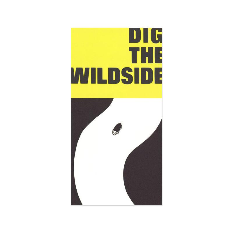 ウェルモ ポストカード DIG THE WILDSIDE(yellow)