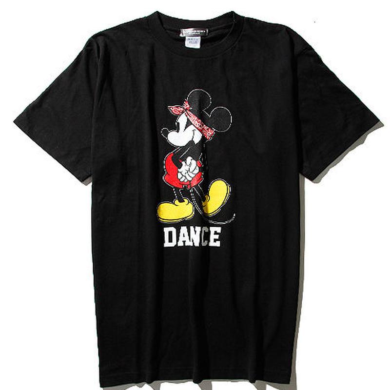 ダンスミッキーマウスTシャツ2017 Ver(黒)