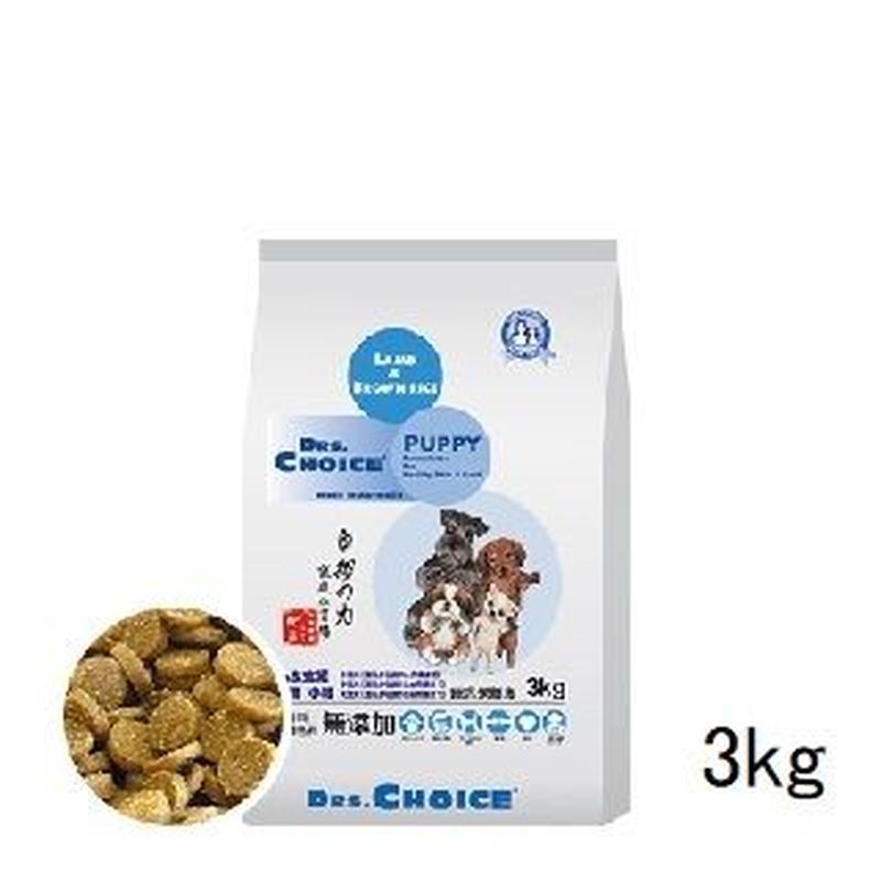 犬 3kg ドクターズチョイス 子犬用 小粒【9470】