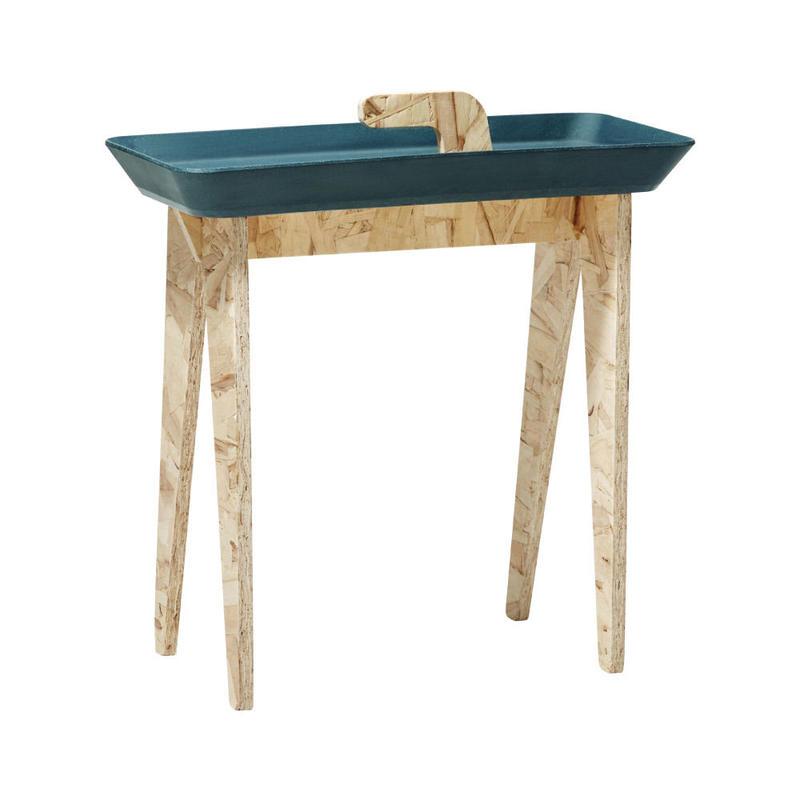 サイドテーブル Tiny Walk ネイビーグリーン