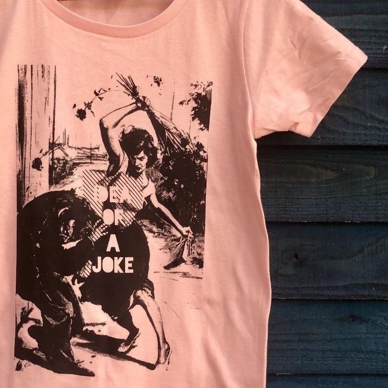 花屋のTシャツ ピンク