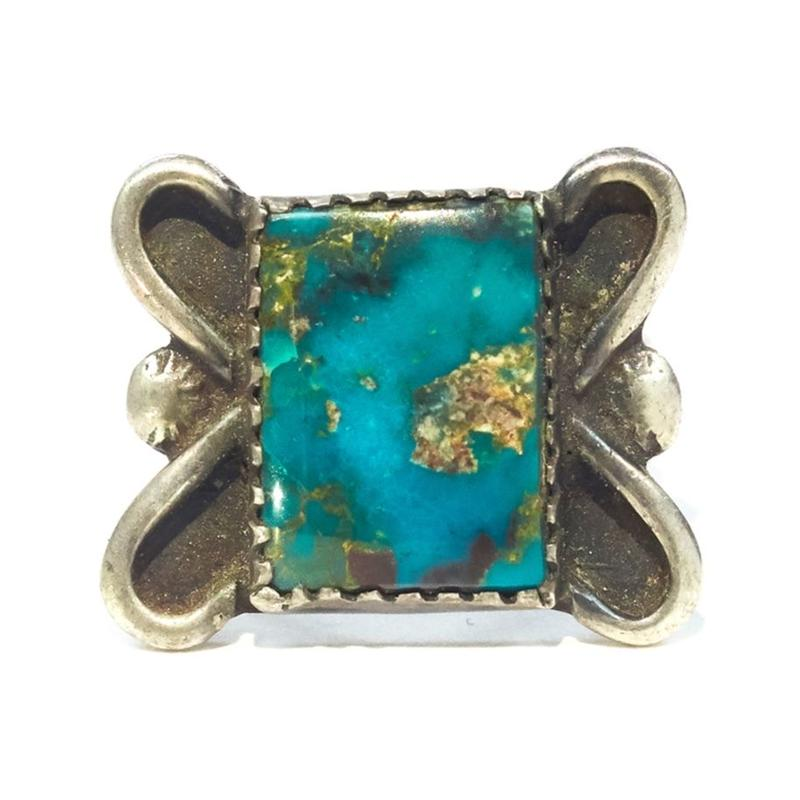 Butterfly Turquoise Ring