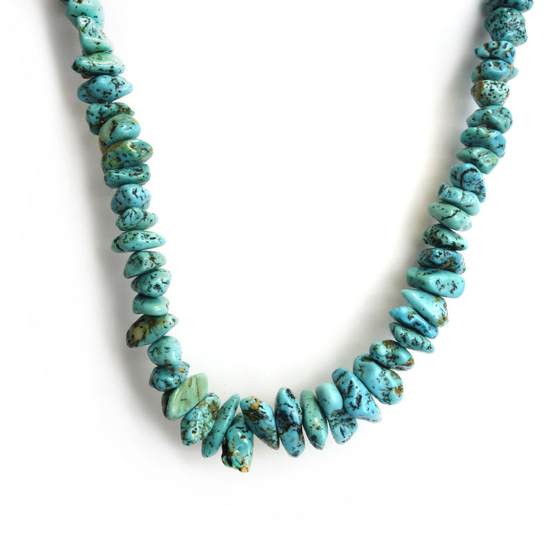 Navajo Turquoise Hook Necklace