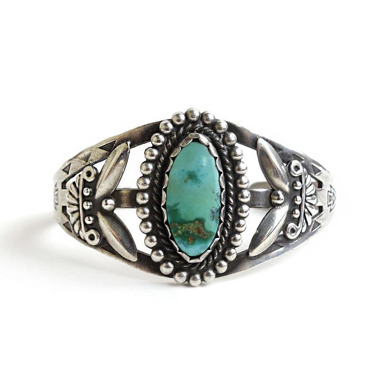 Turquoise Bracelet / Fred Harvey Style