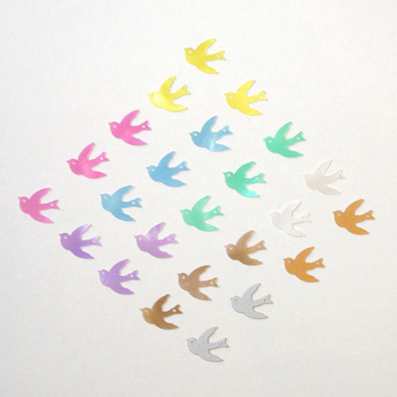 ツバメのスパンコール 《ツバメーミックスSET》【24枚セット】