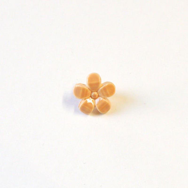 フラワーボタン(JB736427 オレンジ)