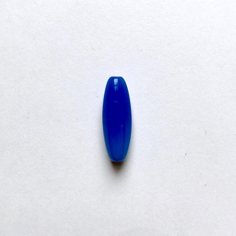ナツメ形ビーズ(FJ409 ブルー)