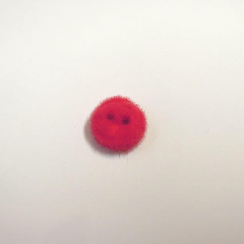 ライズボタン ラウンド(JB736459 レッド)