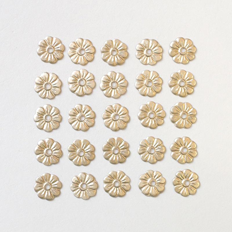 スパンコール フラワー5mm(FFS235 ゴールド)【25枚セット】