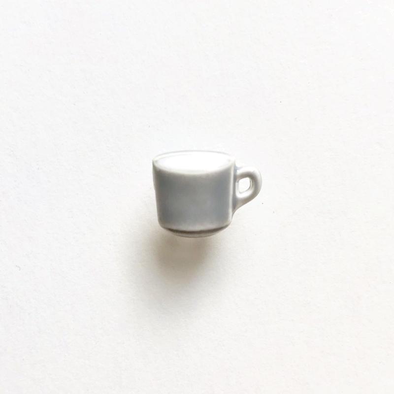 コーヒーカップボタン (JB767252 グレー)
