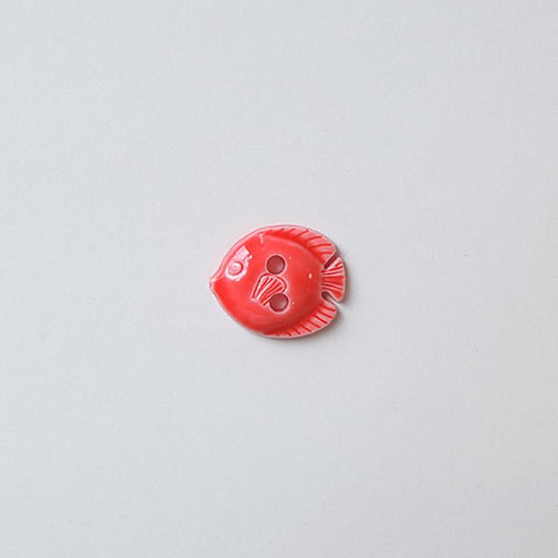 フィッシュボタン (JB736434 12mm レッド)