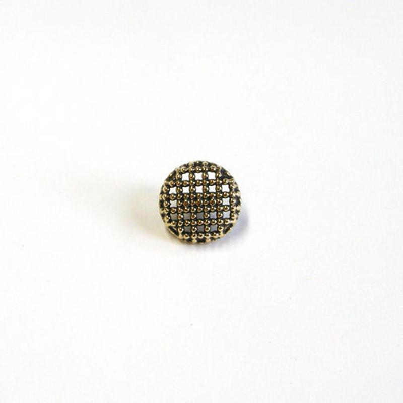 メタル透かしボタン 10mm (JB163210 ゴールド)