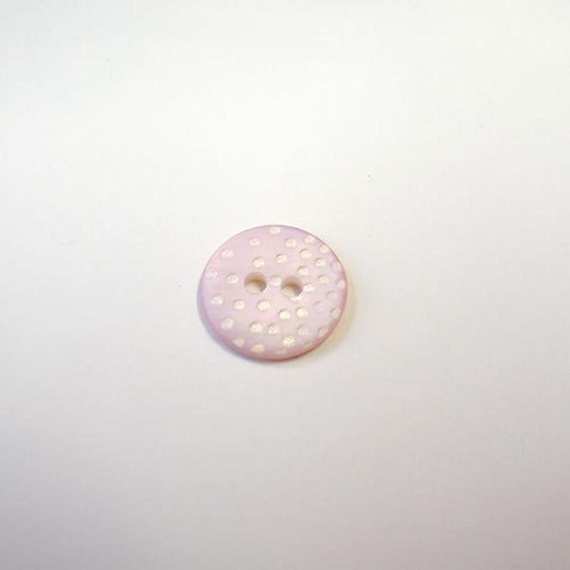 ドットシェルボタン(JB109181 ピンク)