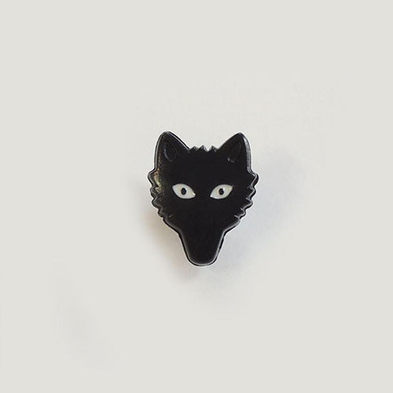 オオカミボタン (JB767238 ブラック)