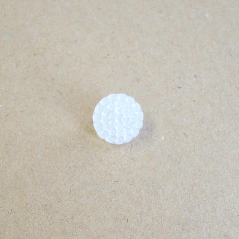 キャンディボタン (JB72037 ホワイト)