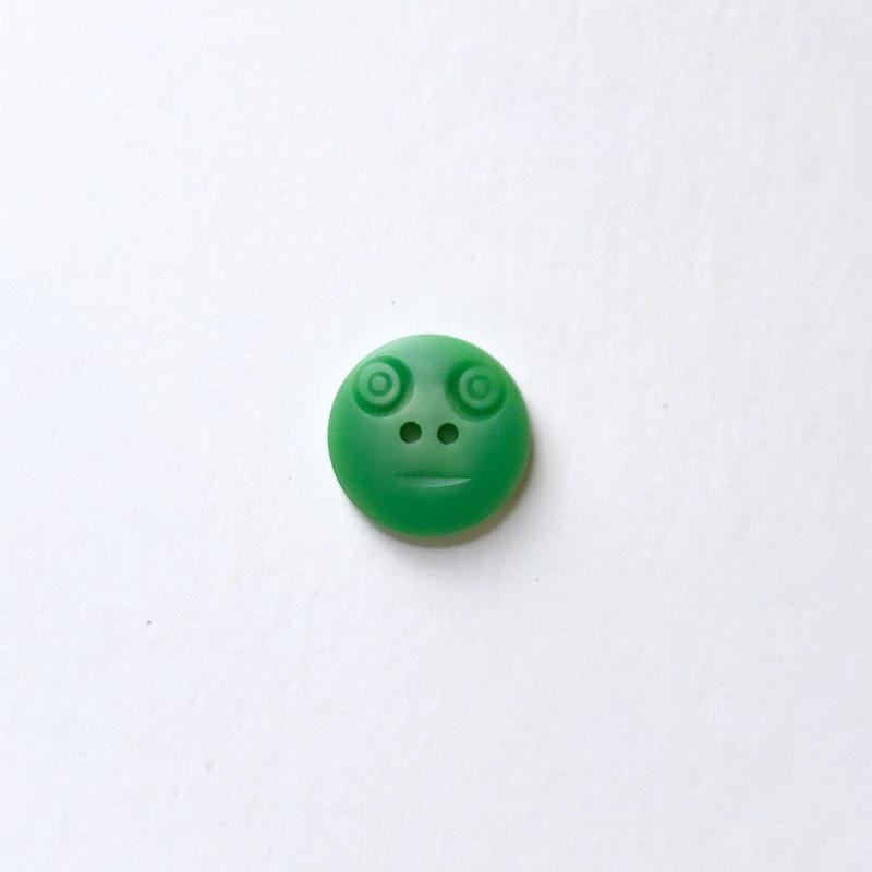 スマイルボタン  (Sサイズ グリーン)