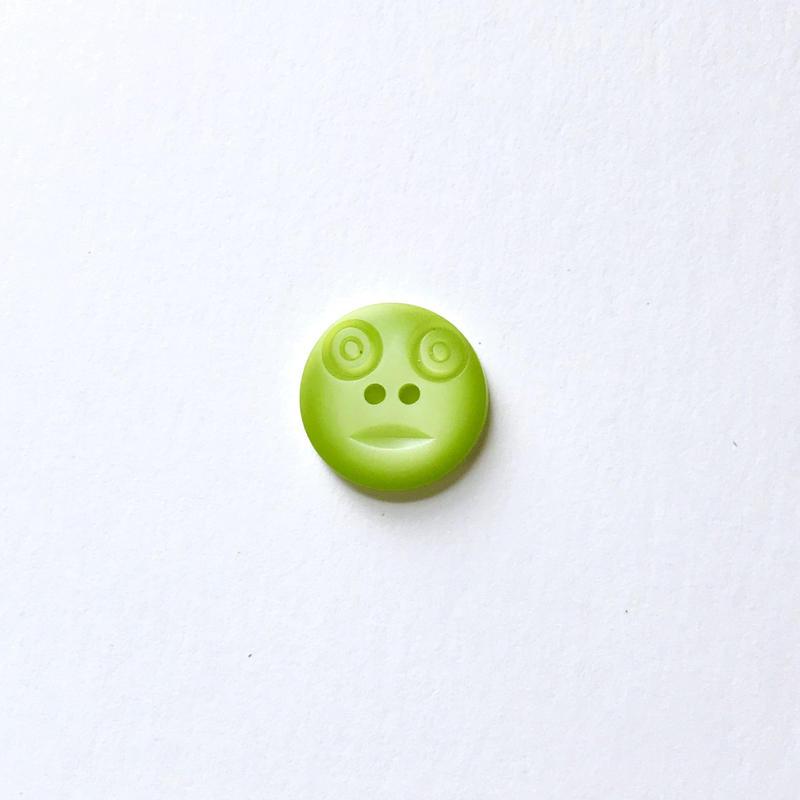 スマイルボタン  (Sサイズ ライトグリーン)
