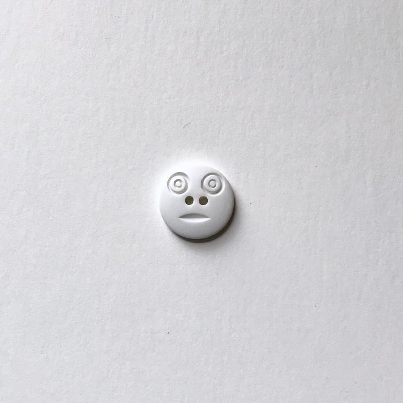 スマイルボタン  (Sサイズマットホワイト)
