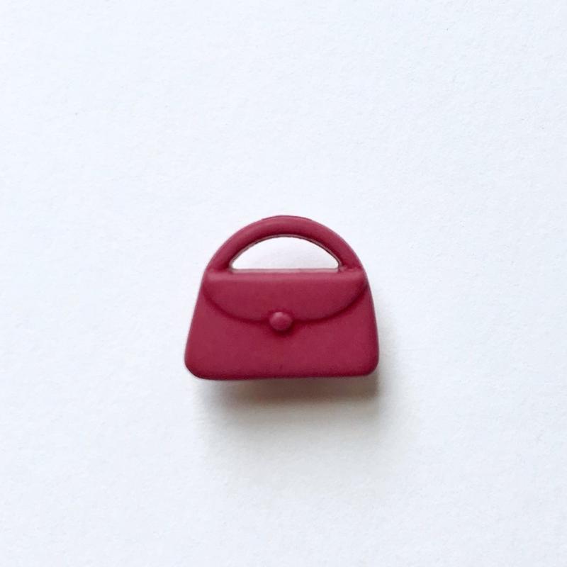 ハンドバッグボタン (JB730273 ローズレッド)