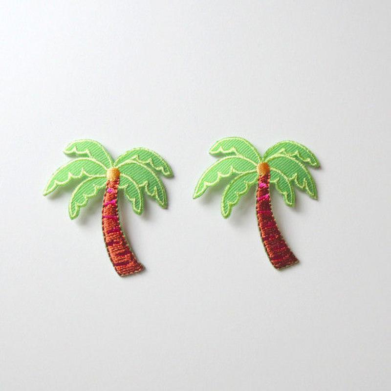 ヤシの木(ワッペン)【2枚セット】