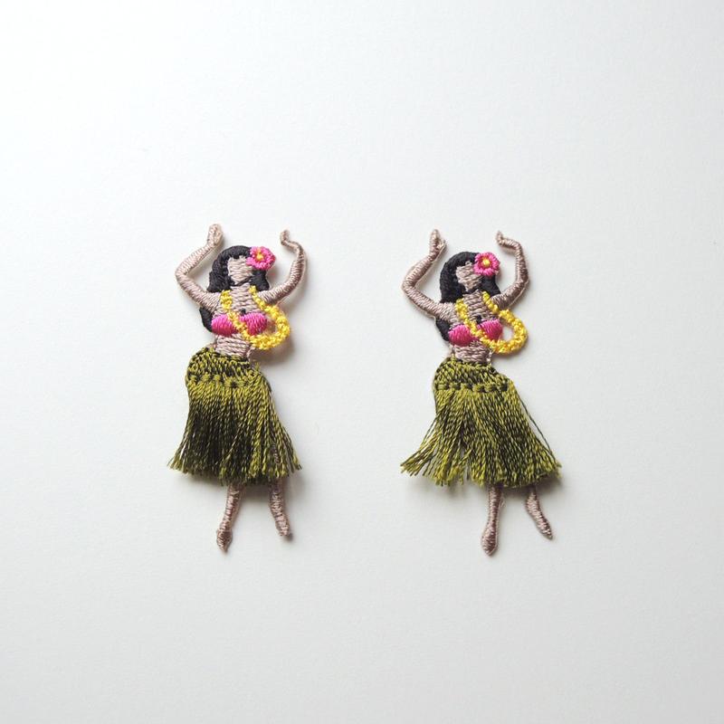ハワイアン(ワッペン)【2枚セット】