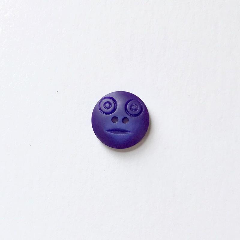 スマイルボタン  (Sサイズ ダークパープル)
