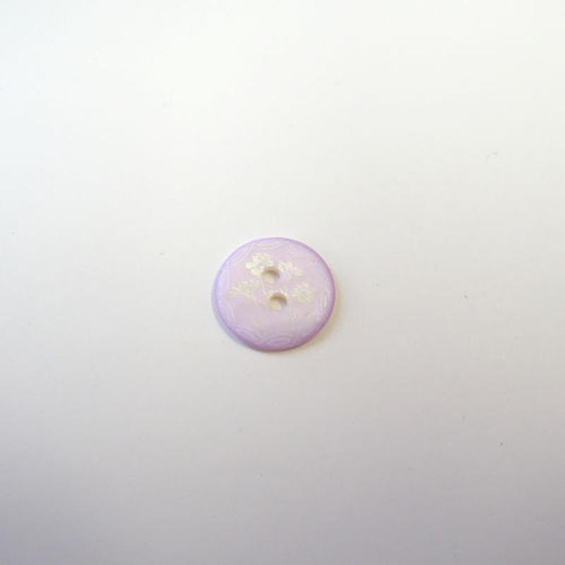 フラワープリントボタンS(JB109209 ピンク)