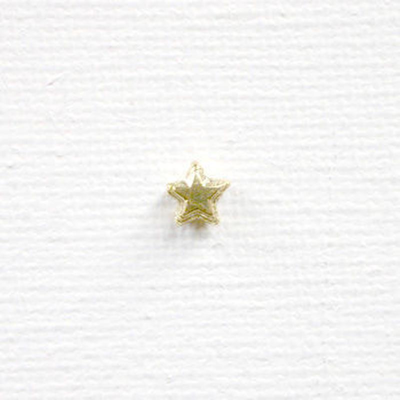 星ビーズ(FJ1035 ゴールド) 【3個セット】