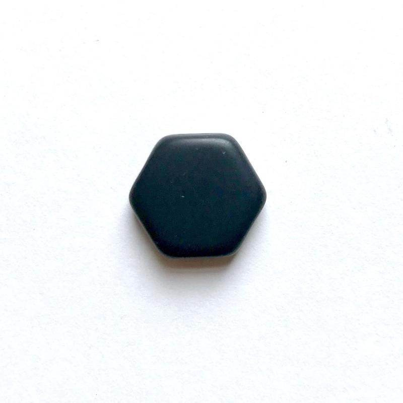 ヘキサゴンビーズ(FJ340  ブラック)