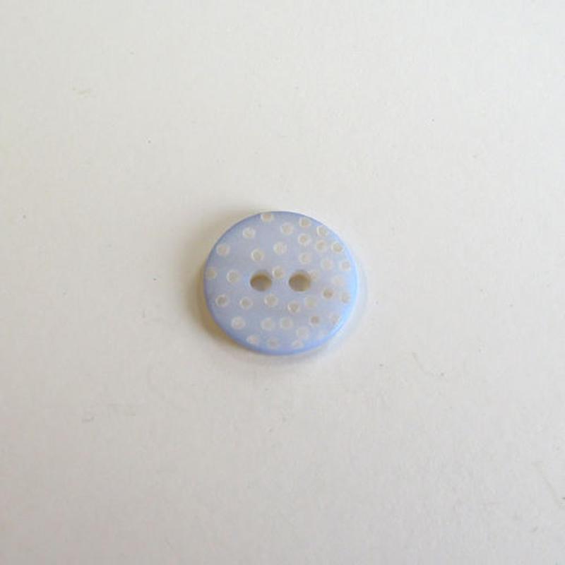 ドットシェルボタン(JB109181 ブルー)