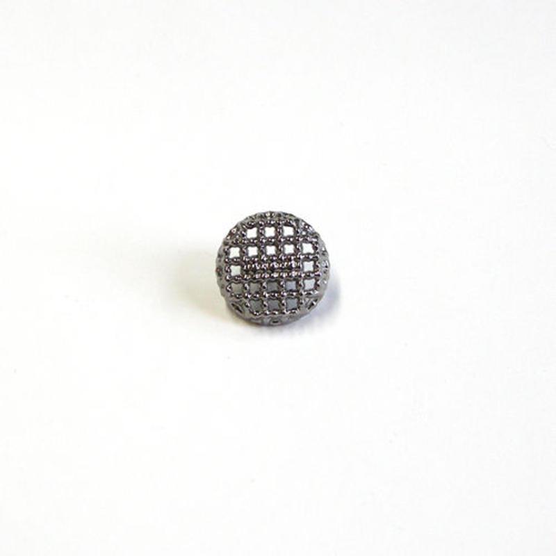 メタル透かしボタン 10mm (JB163210 シルバー)