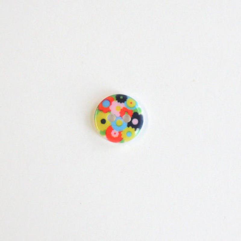 フラワープリントボタン (JB486105 12mmマルチ)